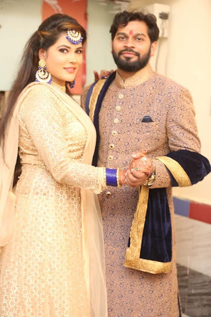 Seema Singh engagement Photo