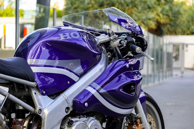 Honda VFR750 By Purpose Built Moto Hell Kustom