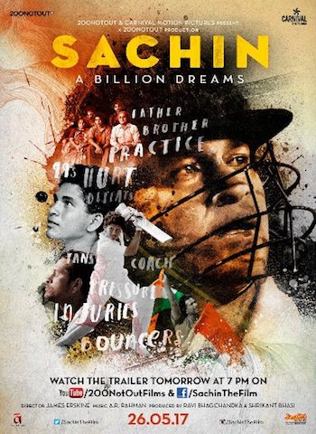 Sachin A Billion Dreams 2017 Hindi 480p HDRip 400mb