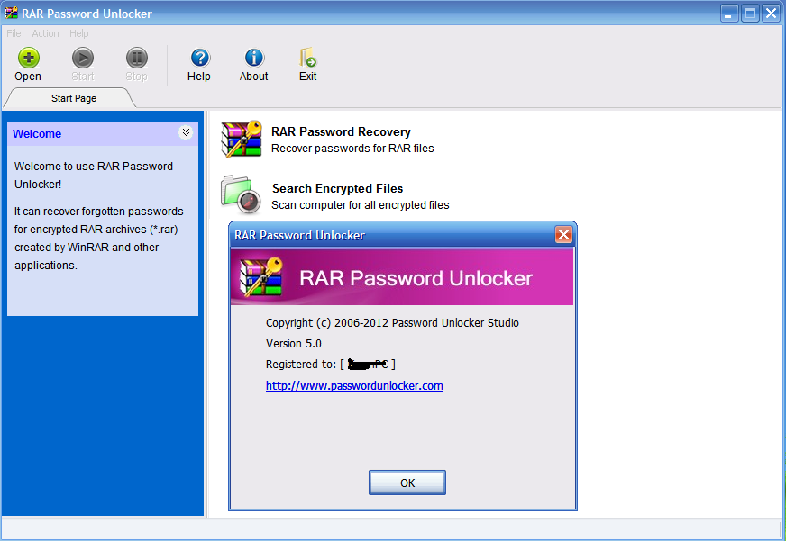 crack rar password unlocker