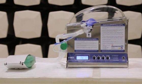 El hospital recibió dos equipos respiratorios alternativos