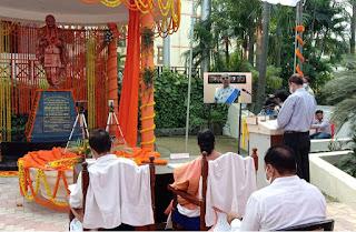 भारतवासियों के लिए प्रेरणास्रोत है सरदार पटेल का व्यक्तित्व और कृतित्व : कुलाधिपति   #NayaSaberaNetwork