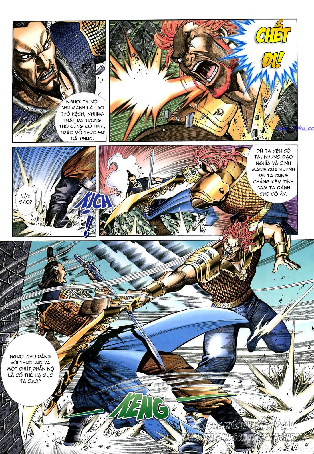 Anh hùng vô lệ Chap 22 trang 28