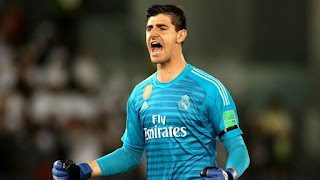 Real Madrid goalkeeper Thibaut Courtois in the race to be the best goalkeeper in Europe