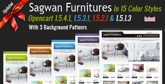 Sagwan Furniture's Opencart Template : Premium Templates Resources