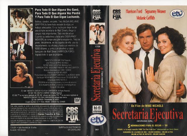 "Pelicula: ""Secretaria Ejecutiva"" - 1988"