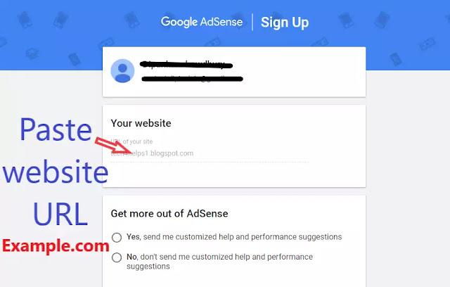 Create adsense account fro blogger 2021