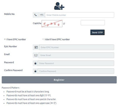 How to register to vote #India?