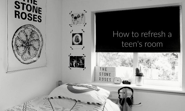 my teenagers room updated
