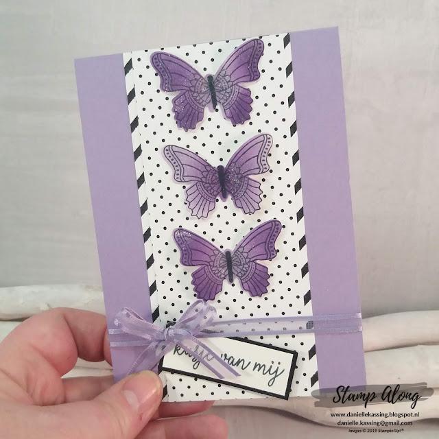 Stampin' Up! Vlinderdans en Botanical Butterfly DSP