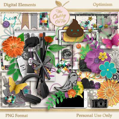 Optimism Digital Elements