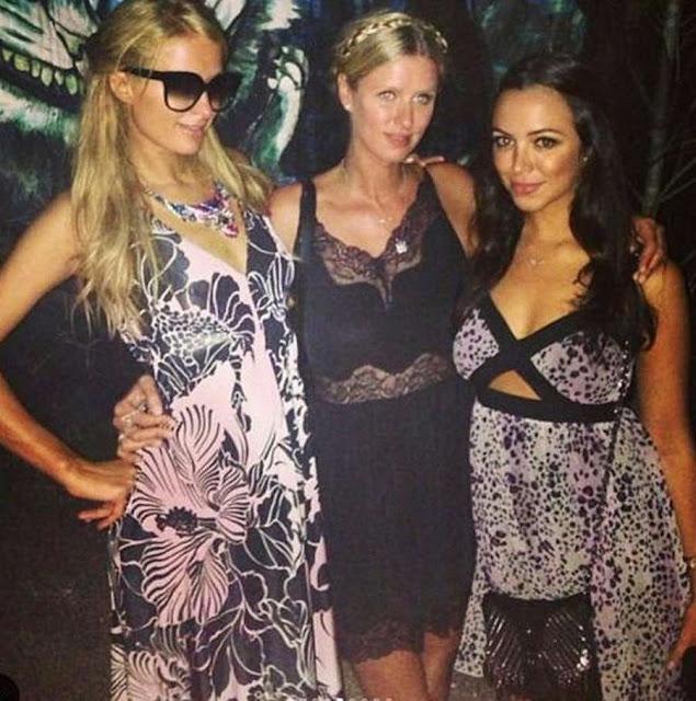Cantiknya Sepupu Paris Hilton yang Berdarah Indonesia