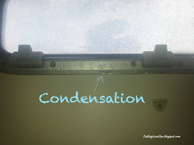 sailing blog adventure cruising condensation on a boat