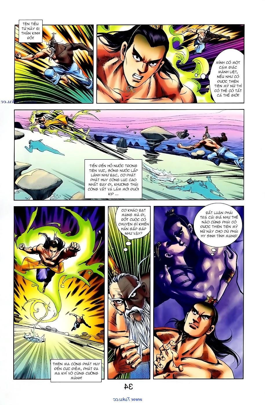Cơ Phát Khai Chu Bản chapter 102 trang 29