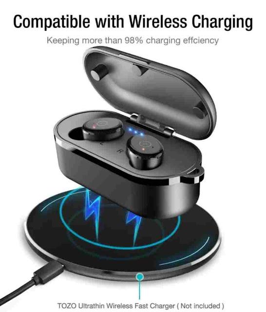 online buy TOZO T10 Bluetooth 5.0 Wireless Earbuds