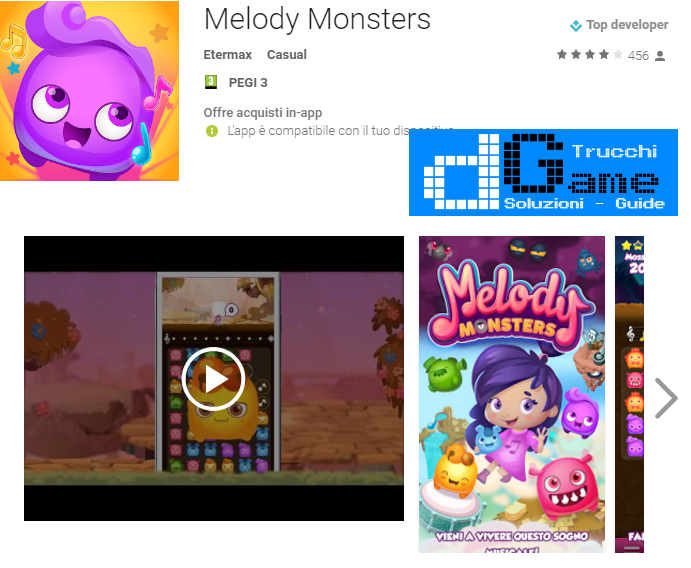 Trucchi Melody Monsters Mod Apk Android v1.1.5