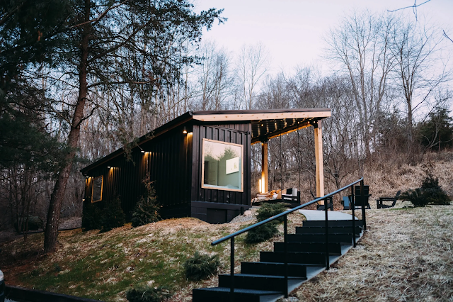 The Lily Pad Airbnb - Small Shipping Container Home, Ohio 1