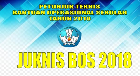 JUKNIS BOS SD SMP SMA SMK TAHUN 2018