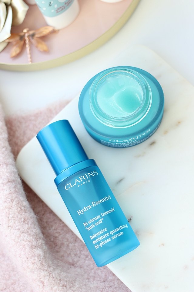 Clarins Hydra-Essentiel serum & gel