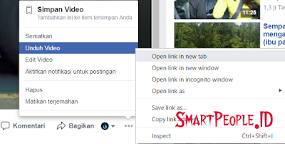 Link Server Sumber Video FB