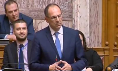 Γέλια με Γεραπετρίτη στη Βουλή για τα ΜΑΤ