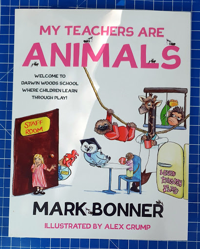 My teachers are animals childrens book review by mark bonner