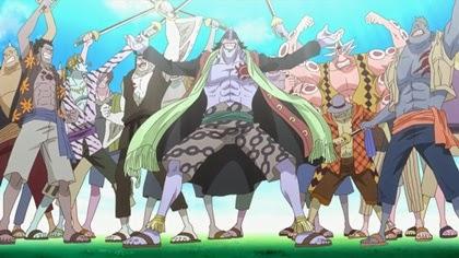 กลุ่มโจรสลัดอารอง (Arlong Pirates)
