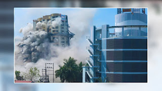 Maradu flats: Reactions of the crowd about the demolition of the building