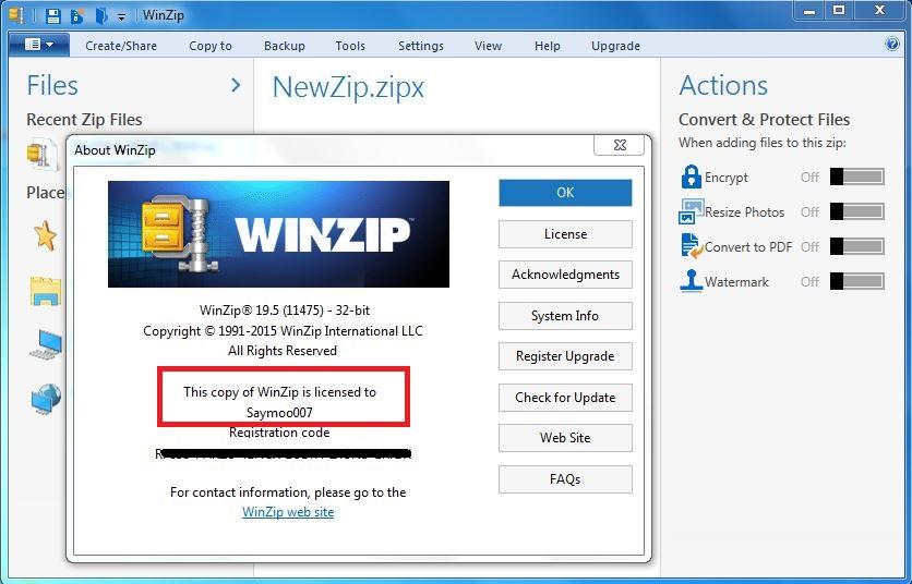Winzip 64 bit