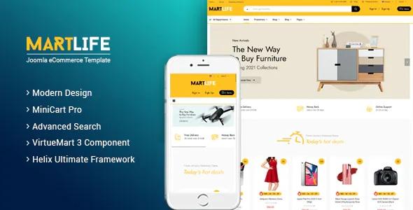 Best Responsive Multipurpose eCommerce Joomla Template