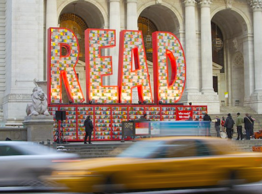 read sculpture new york public library