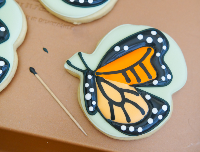 how to: butterfly cookie tutorial