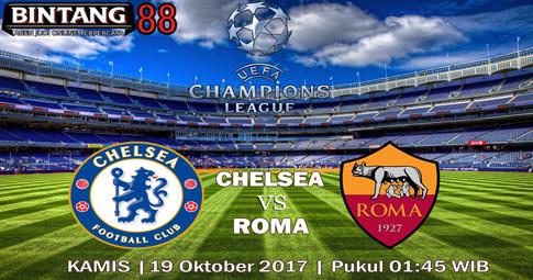PREDIKSI SKOR Chelsea vs Roma 19 OKTOBER 2017