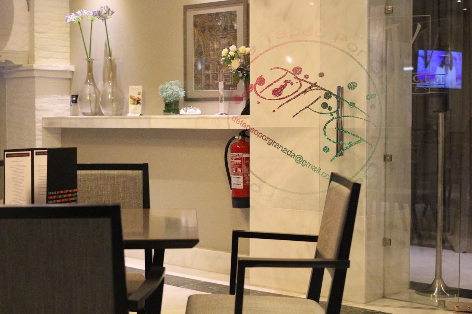 Tapeamos en el bar del hotel vincci de granada de tapeo - Restaurante oryza granada ...
