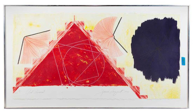 """""""Red Pyramid"""" by James Rosenquist"""