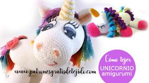 Cómo tejer Unicornio Amigurumi 🦄 3 Tutoriales