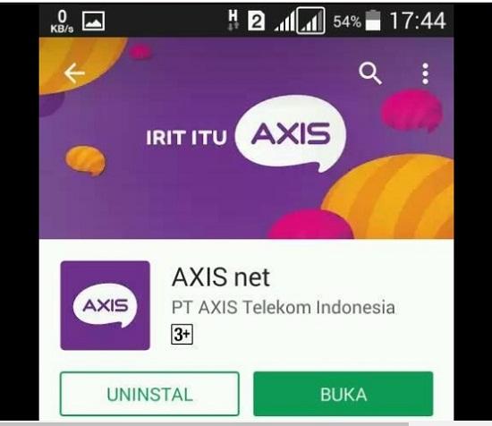 Lewat Aplikasi AXISnet Untuk Cek Nomor Axis