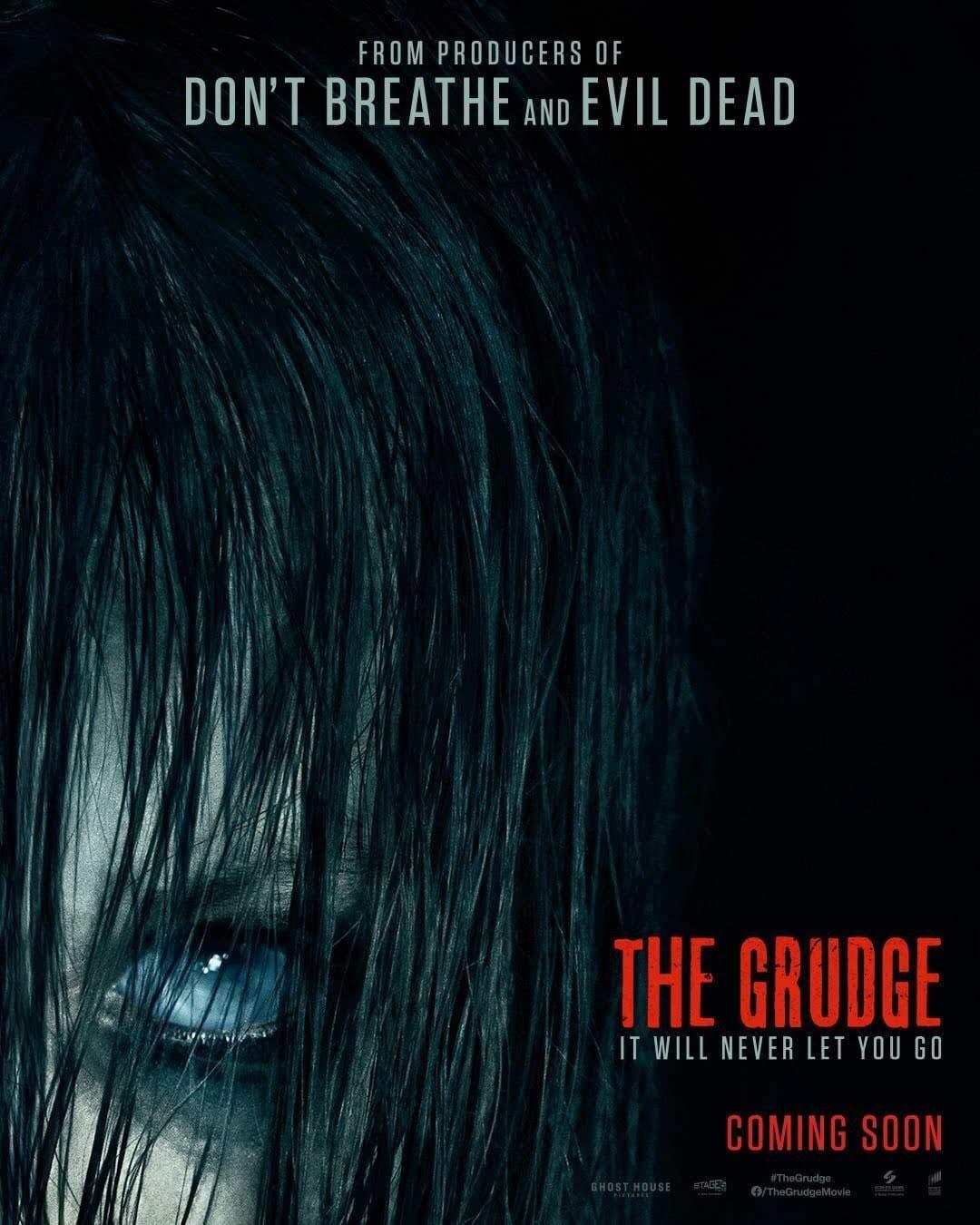 New Poster for The Grudge : ハリウッド版「呪怨」の最新作「ザ・グラッジ」の新しい伽椰子さんポスター ! !