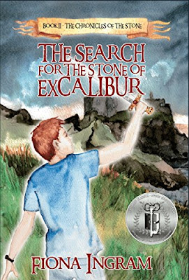The Search for the Stone of Excalibur cover