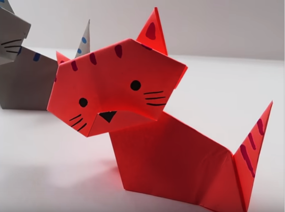 Origami - How to Make a Ninja Star - YouTube | 432x580