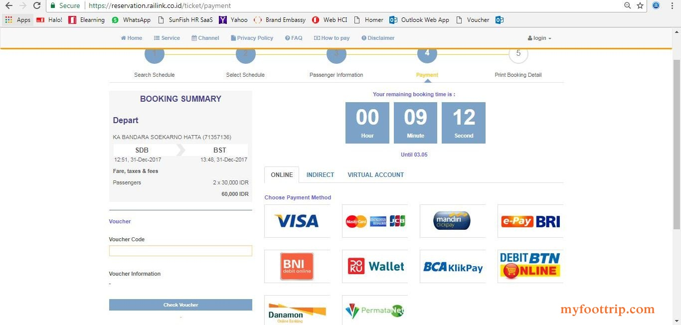 cara beli tiket kereta bandara online
