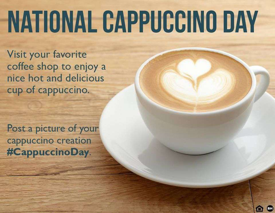 National Cappuccino Day Wishes For Facebook