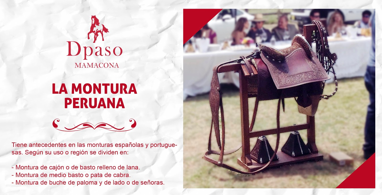 Dpaso caballo peruano de paso mamacona lima for Montura llave de paso