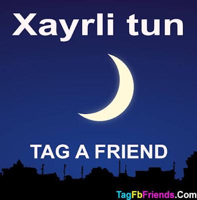 Good Night in Uzbek language