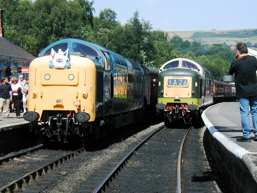 NYRM Deltic Weekend, Grosmont, 2002