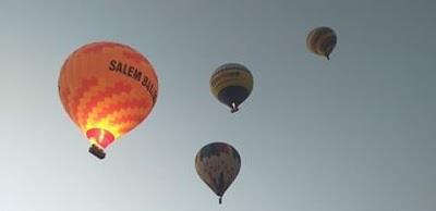 تحليق ١٥ رحلة بالون طائر في سماء الأقصر اليوم