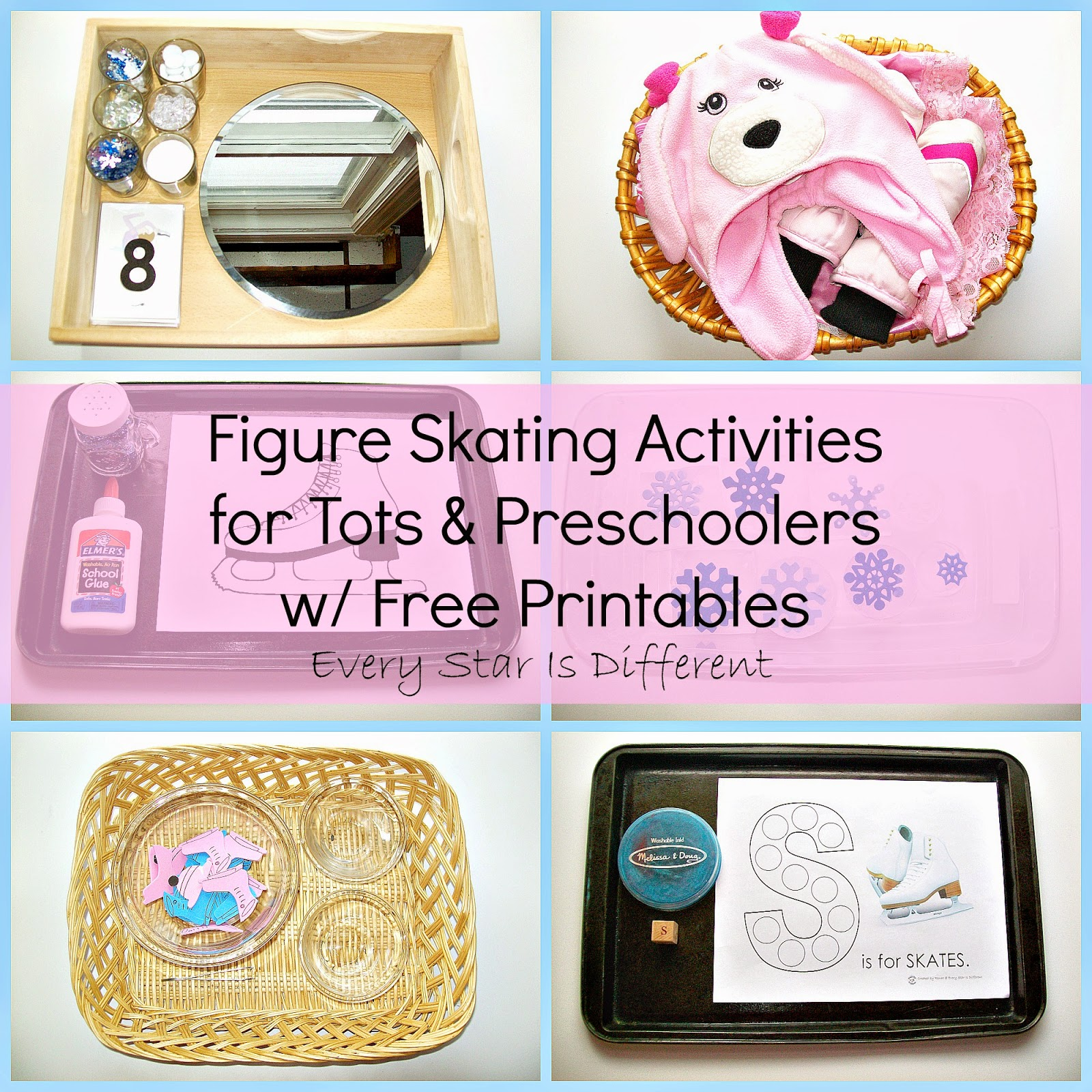 Figure Skating Activities for Tots and Preschoolers