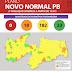 'Plano Novo Normal': avaliação aponta que 182 municípios da Paraíba estão com bandeira amarela