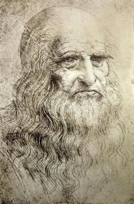 Auto retrato de Leonardo da Vinci - Leonardo da Vinci's self portrait