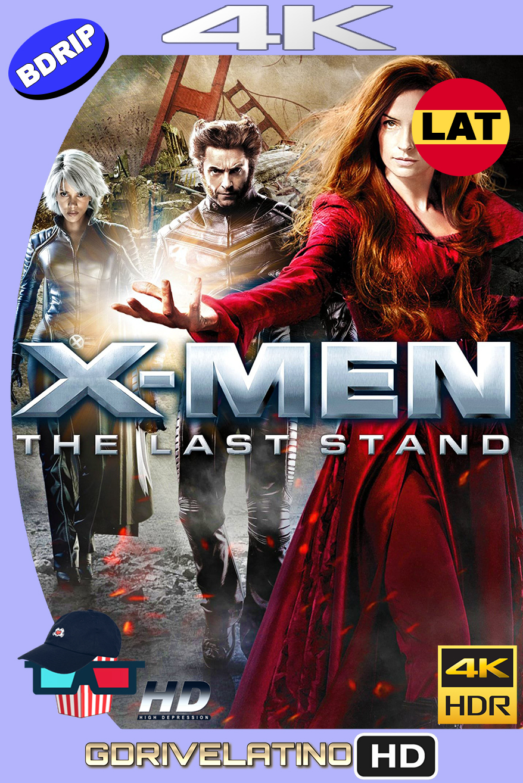 X-Men 3 : La Decisión Final (2006) BDRip 4K HDR Latino-Ingles MKV